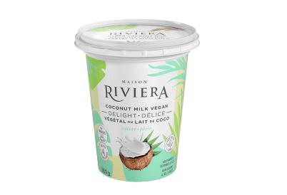 Riviera – Vegan Delight – Plain Coconut Milk Yogurt (650g)
