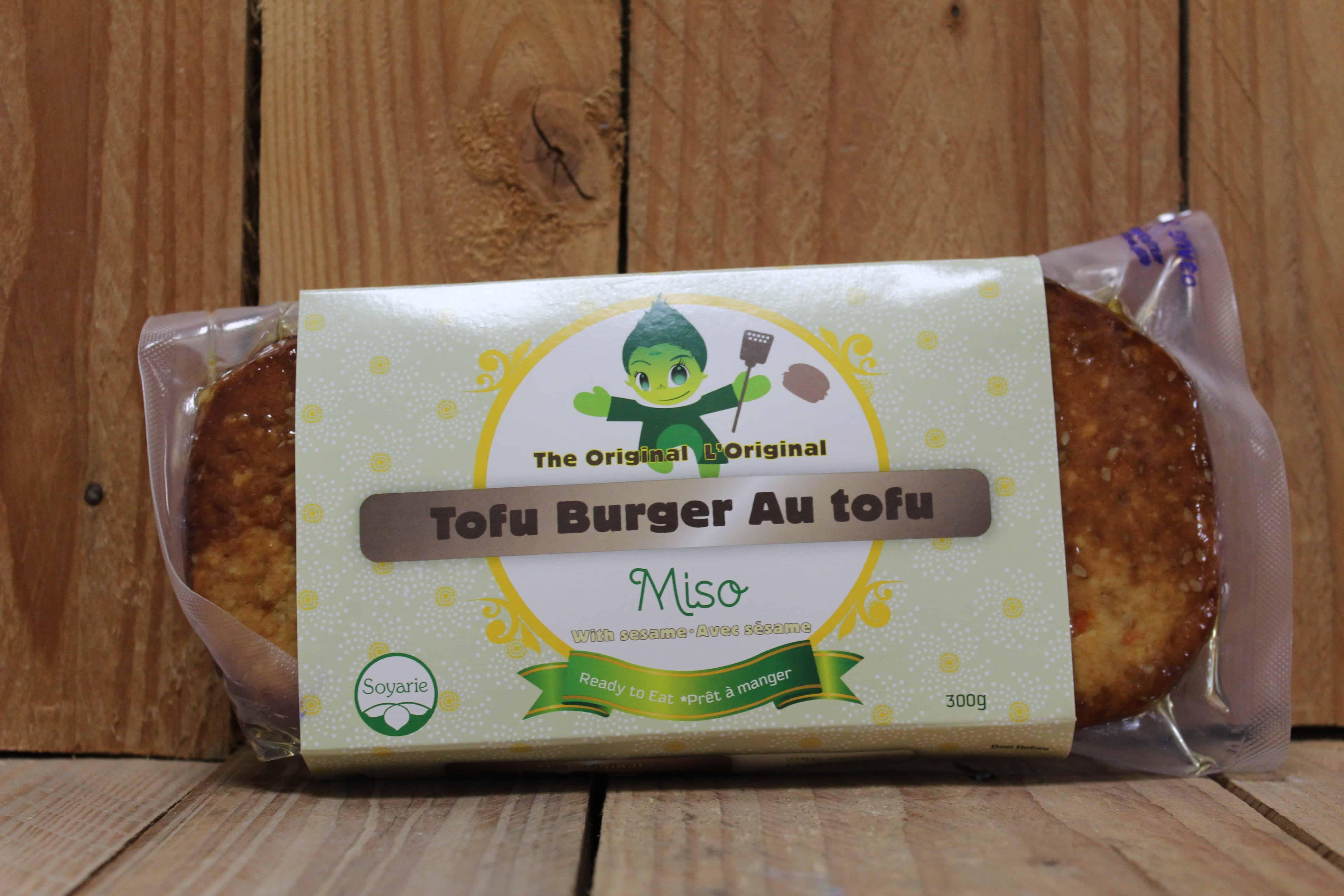 La Soyarie – Miso Tofu Burger (300g)