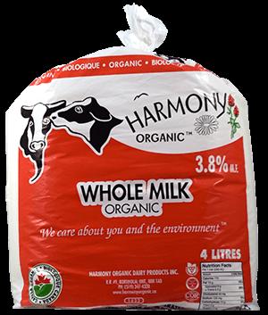 Milk - 4L Bags