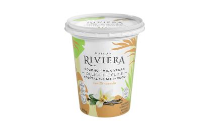 Riviera – Vegan Delight – Vanilla Coconut Milk Yogurt (650g)