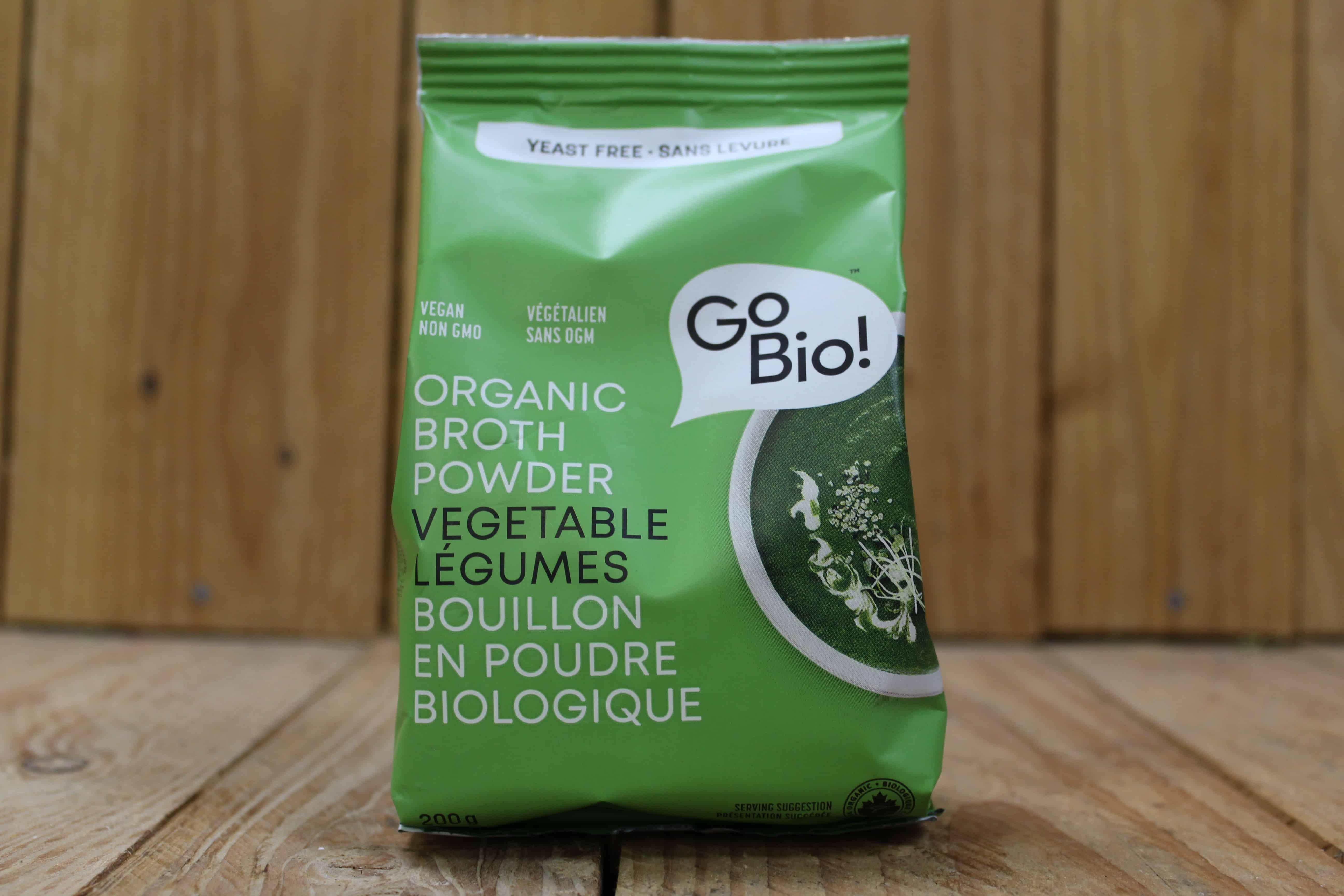 GoBio! – Vegetable Broth Powder (Yeast-Free) (200g) *Best Before March 1st