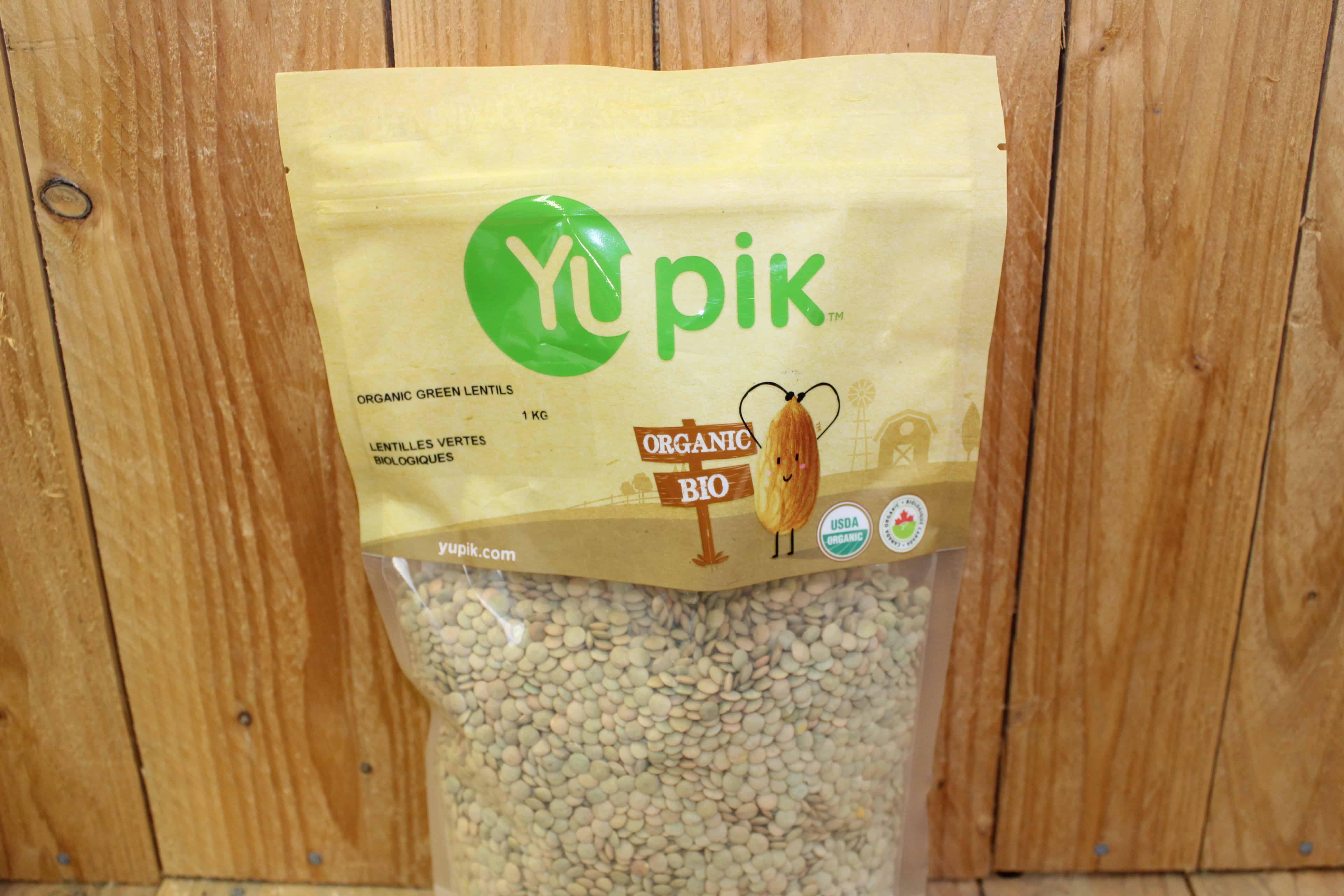 Yupik – Organic Green Lentils (1kg)