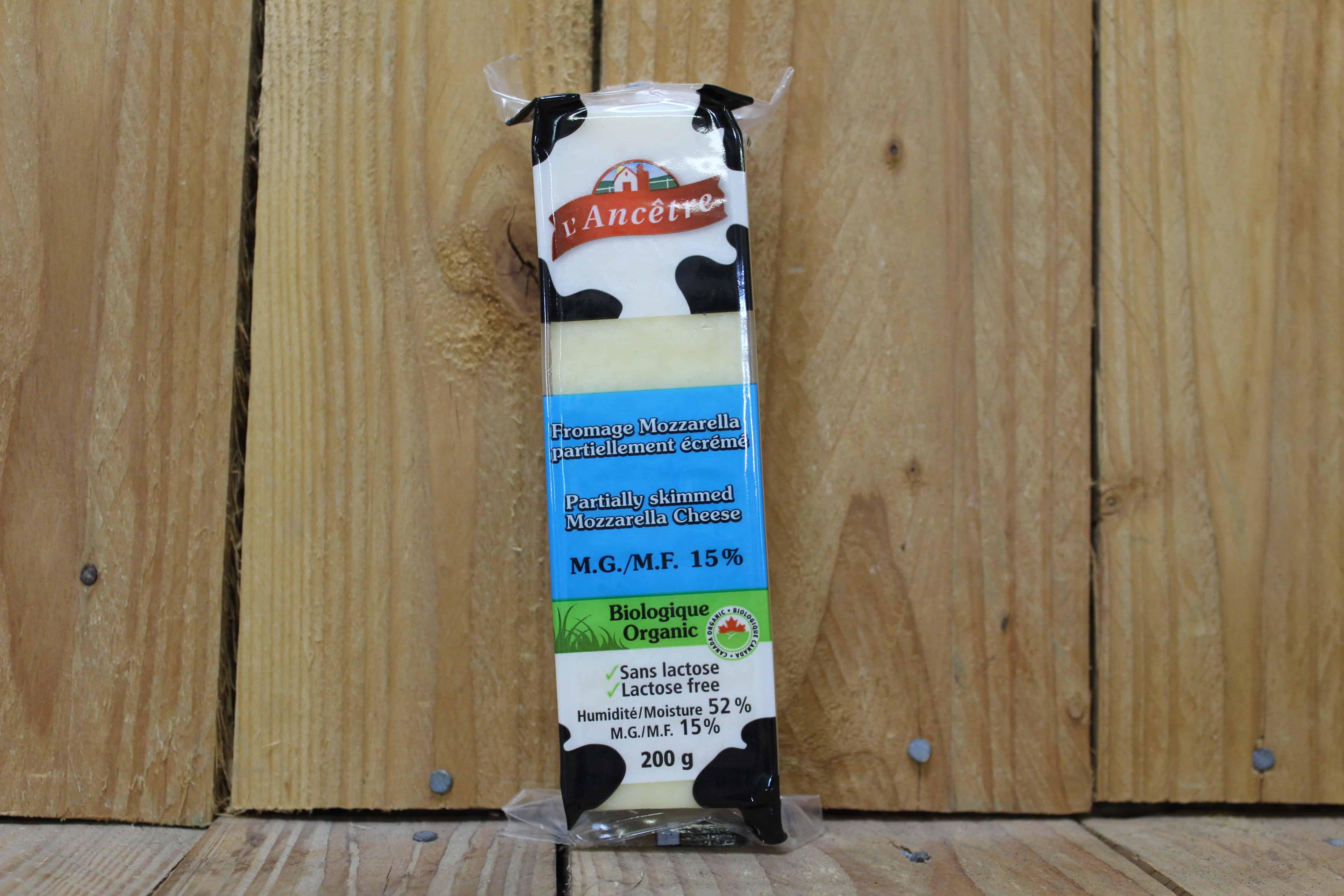 L'Ancetre – Mozzarella 15% MF, Lactose-Free (200g)