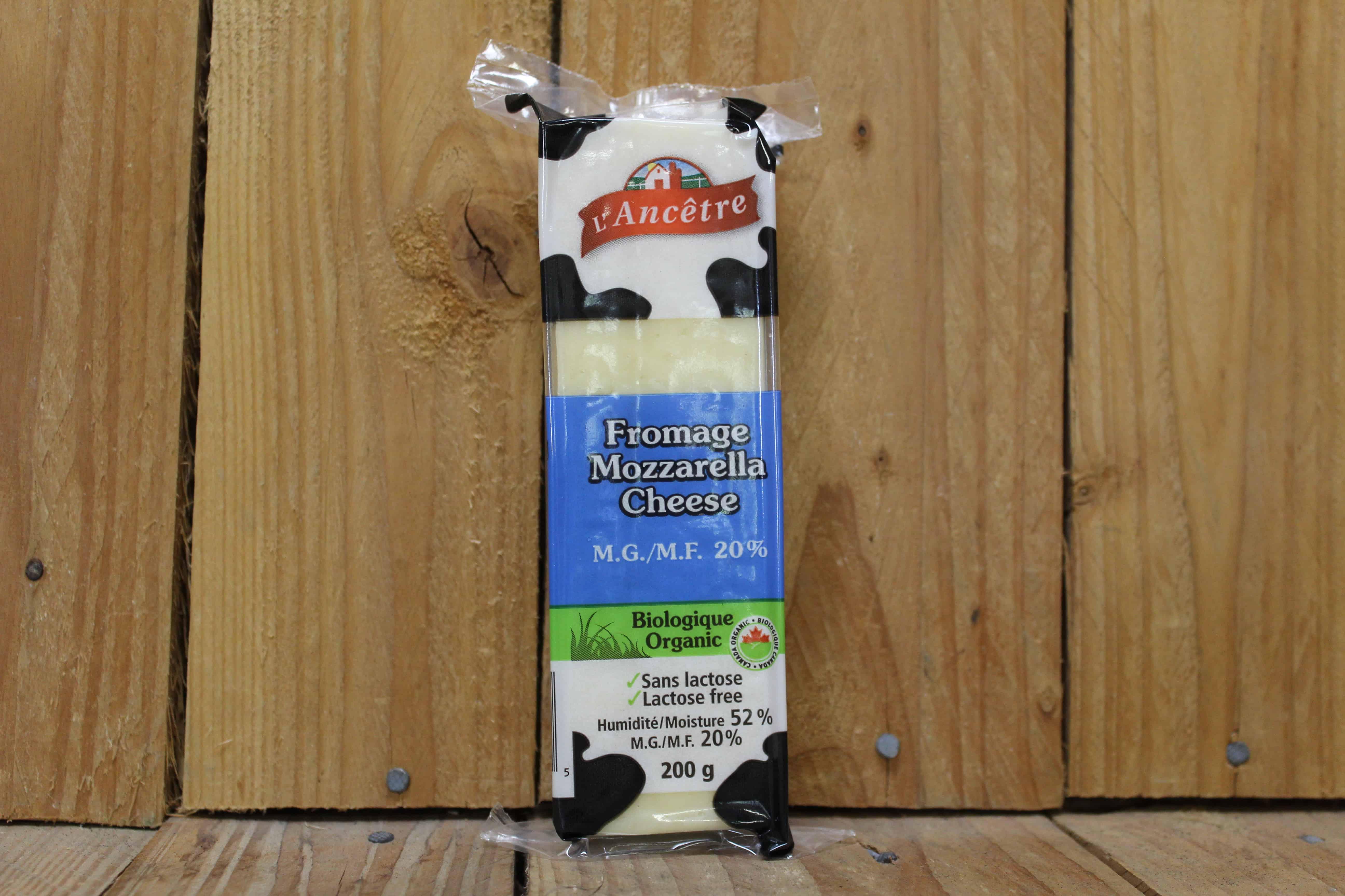 L'Ancetre – Mozzarella 20% MF, Lactose-Free (200g)