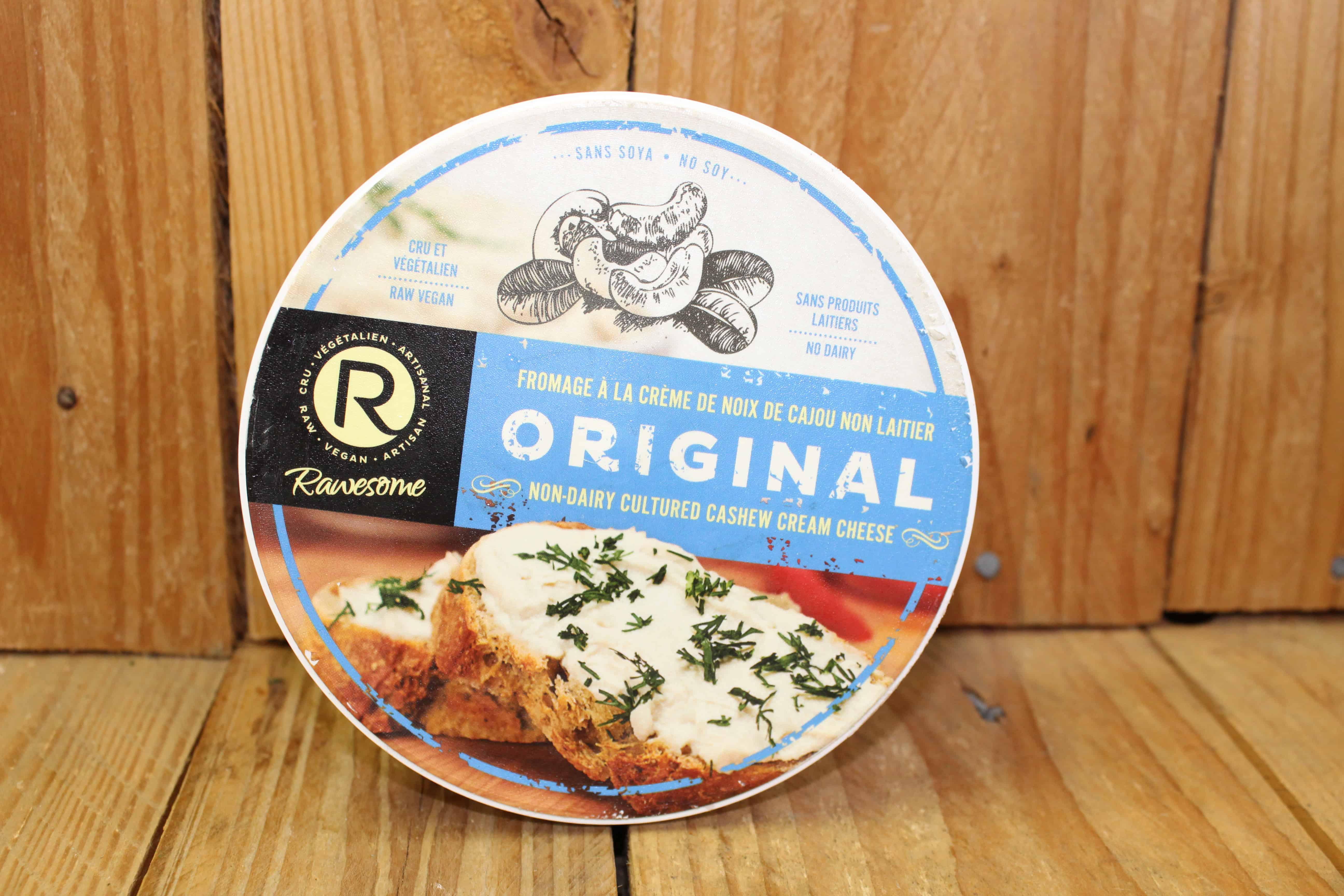 Rawesome – Vegan Cream Cheese – Original VEGAN (227g)