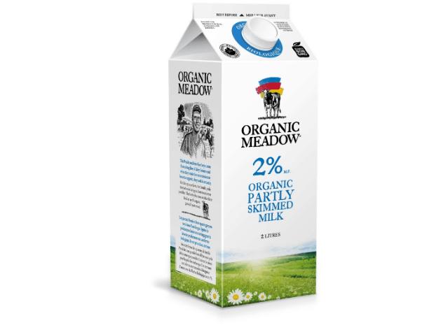 Organic Meadow – 2% Milk (2L Carton)