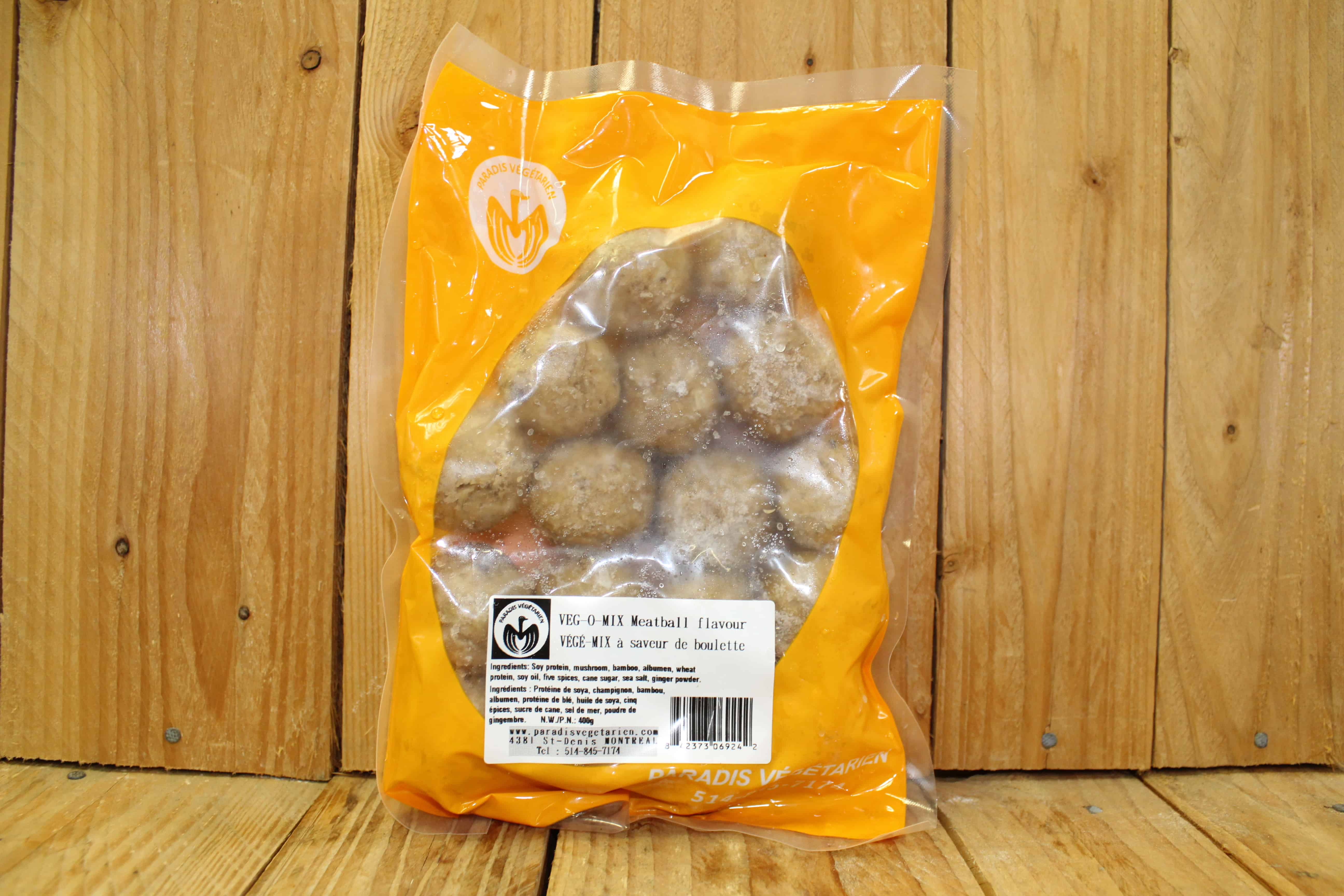 Paradis – Veggie Meatballs (400g)