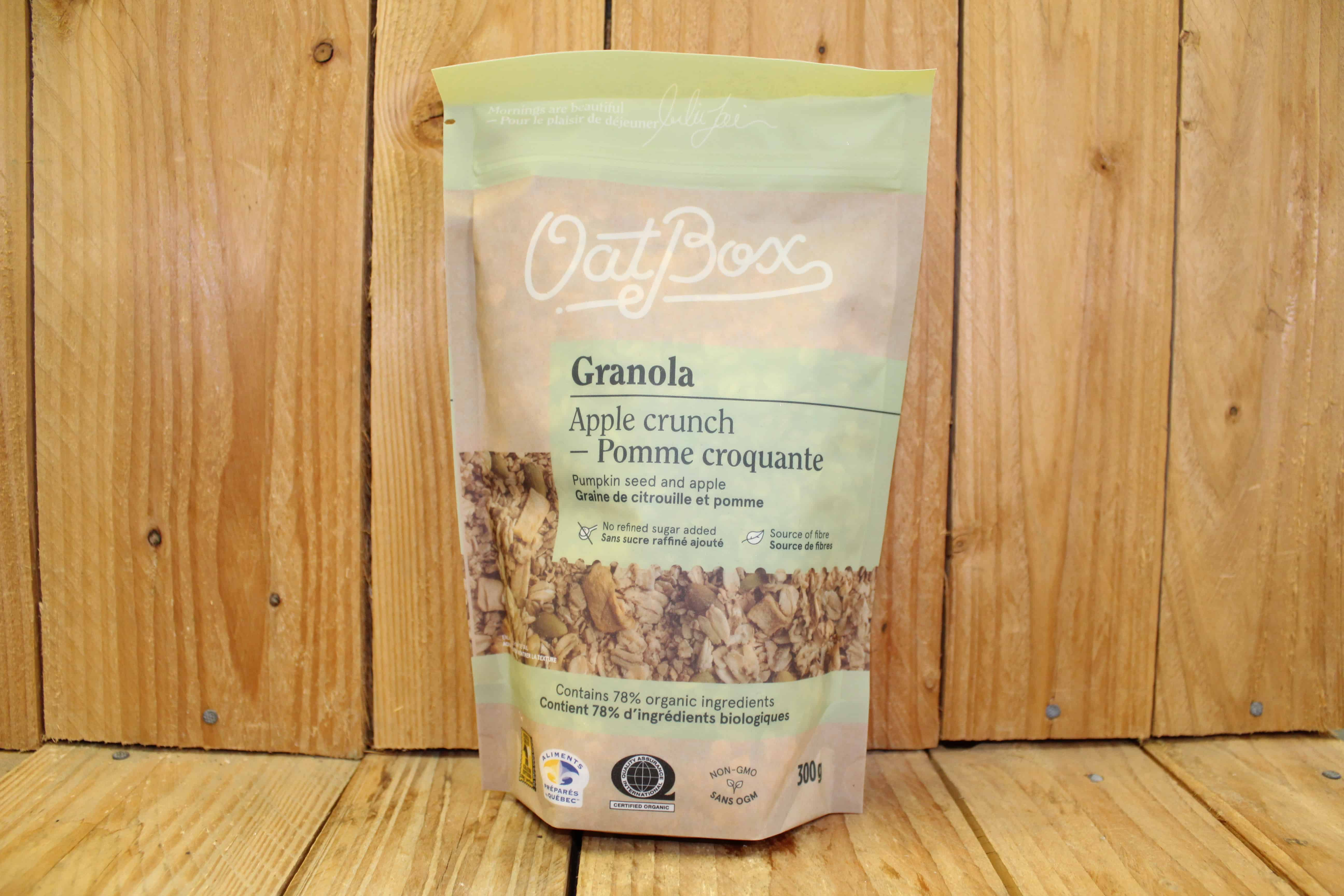 OatBox Granola – Apple Crunch (300g)
