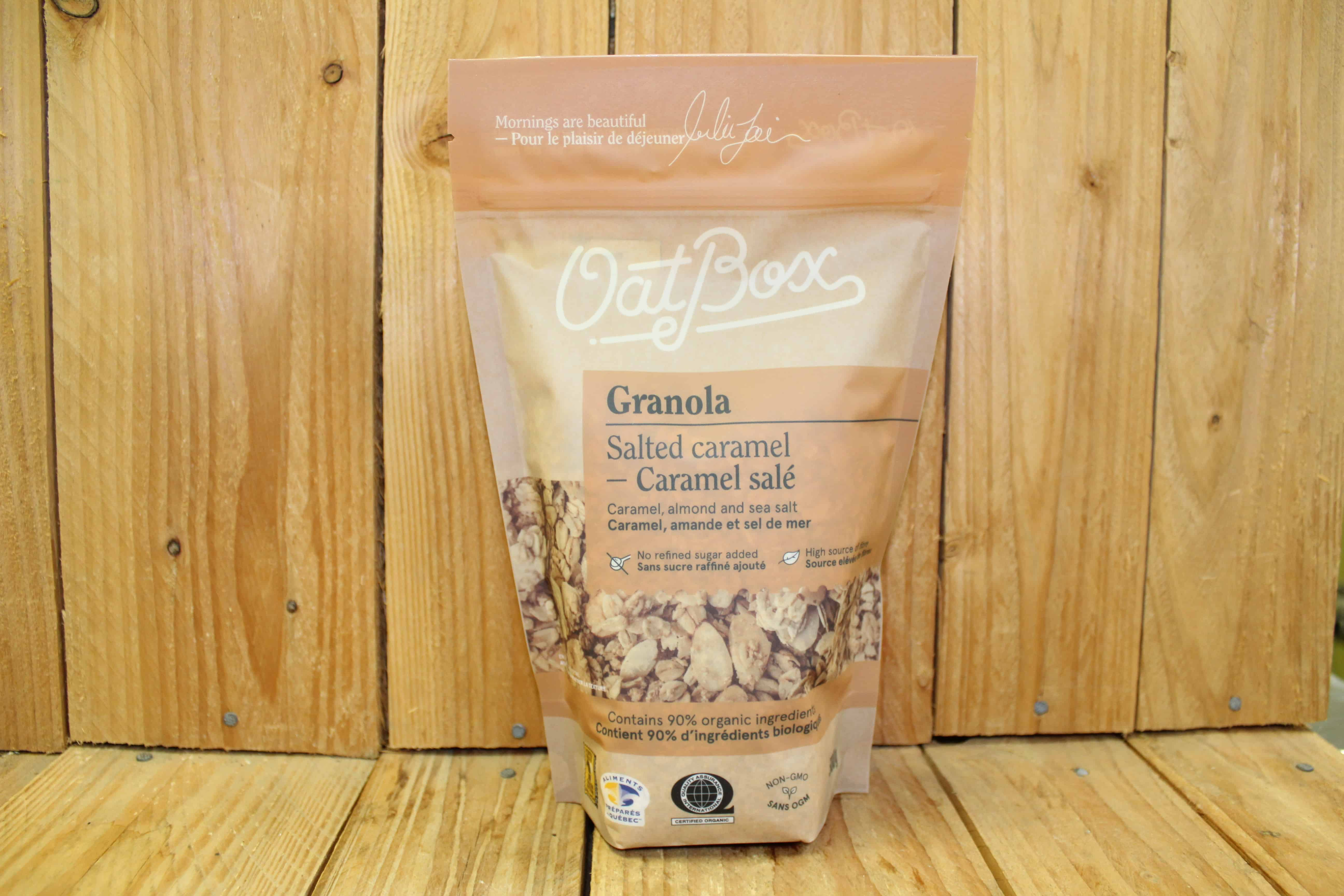OatBox Granola – Salted Caramel (300g)