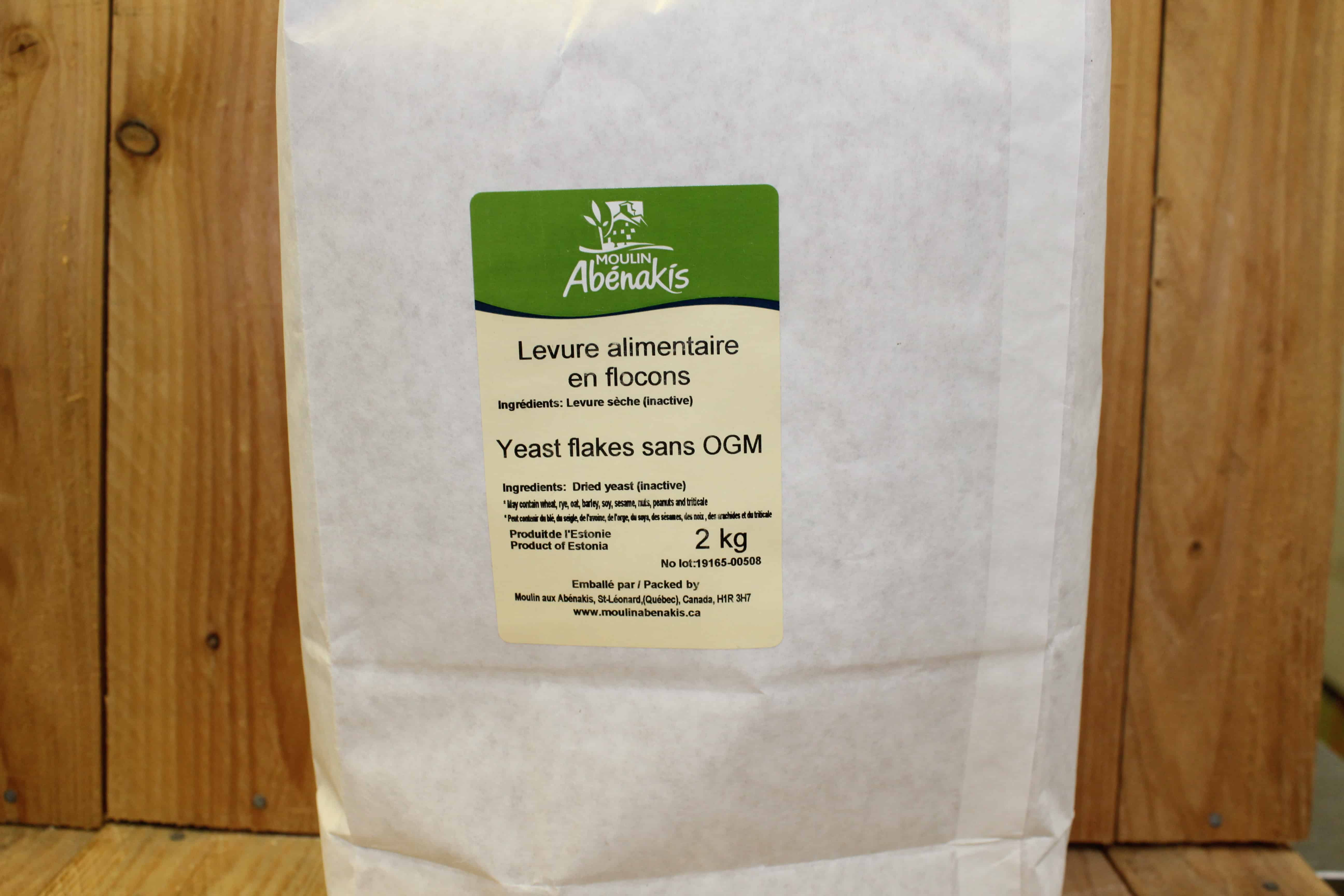 Abenakis – Nutritional Yeast BULK (2kg Bag)