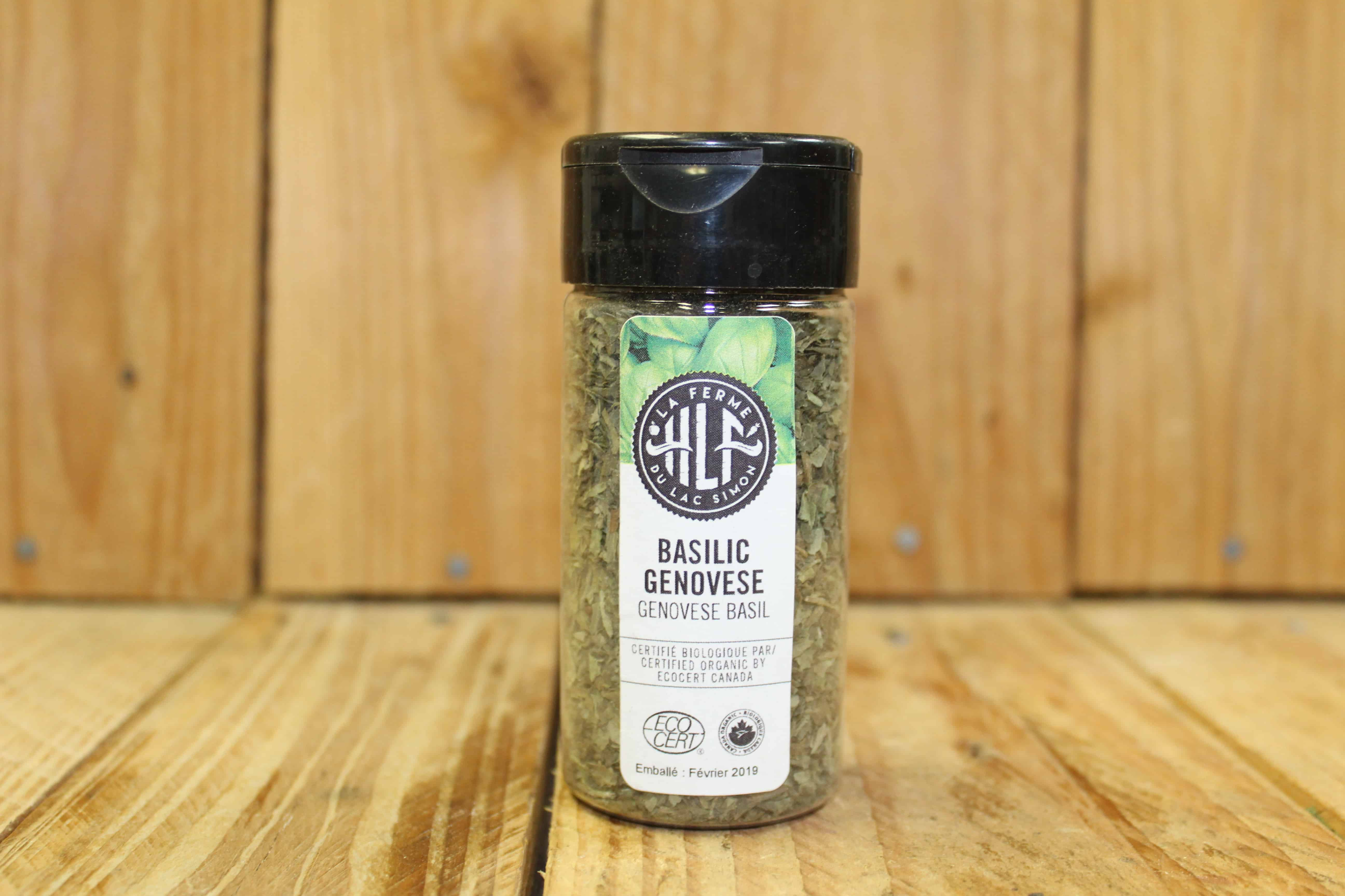 La Ferme HLF – Herbs – LOCAL Genovese Basil (110ml)