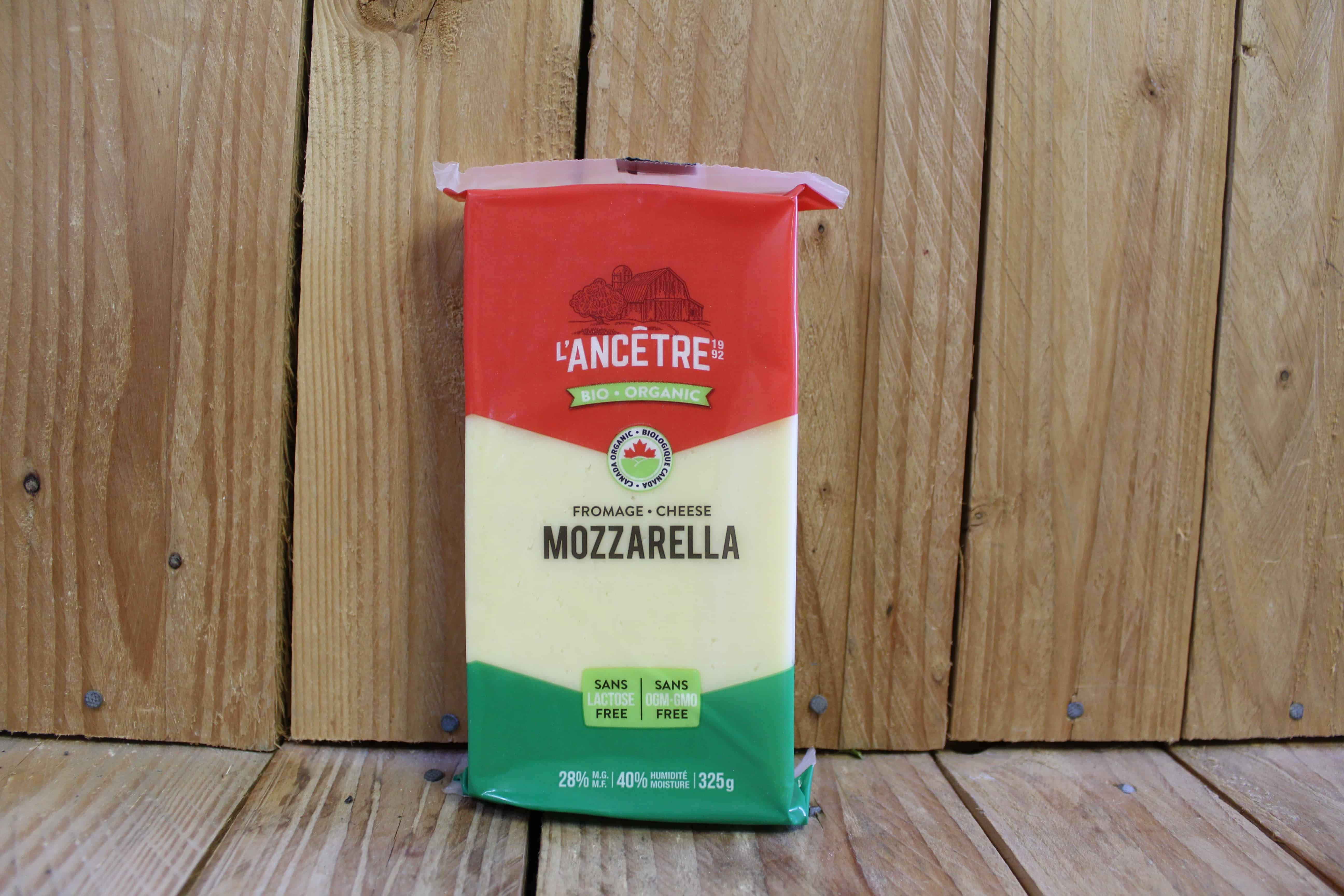 L'Ancetre – Mozzarella 28% MF, Lactose-Free (325g)
