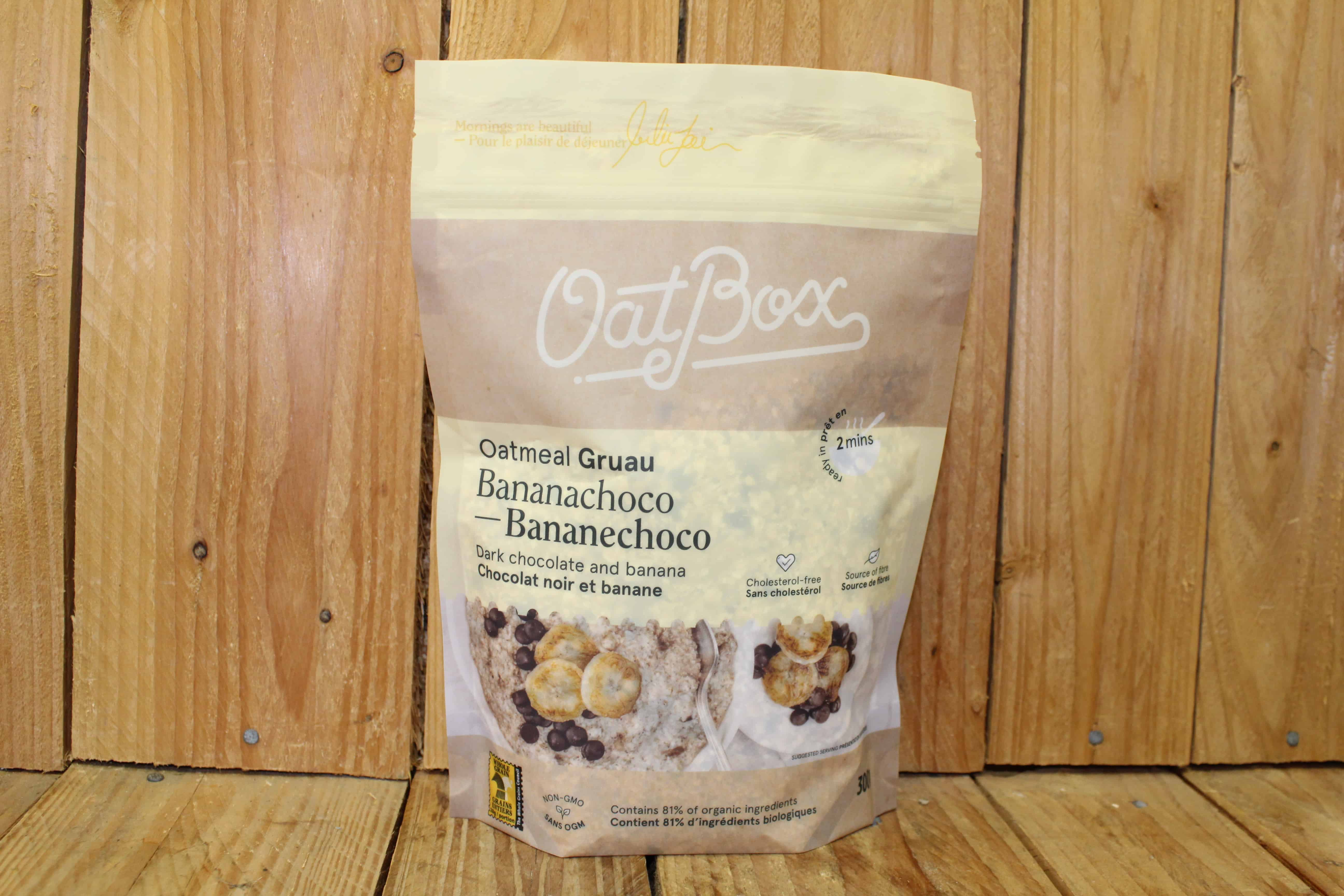 OatBox Oatmeal – Banana & Chocolate (300g)
