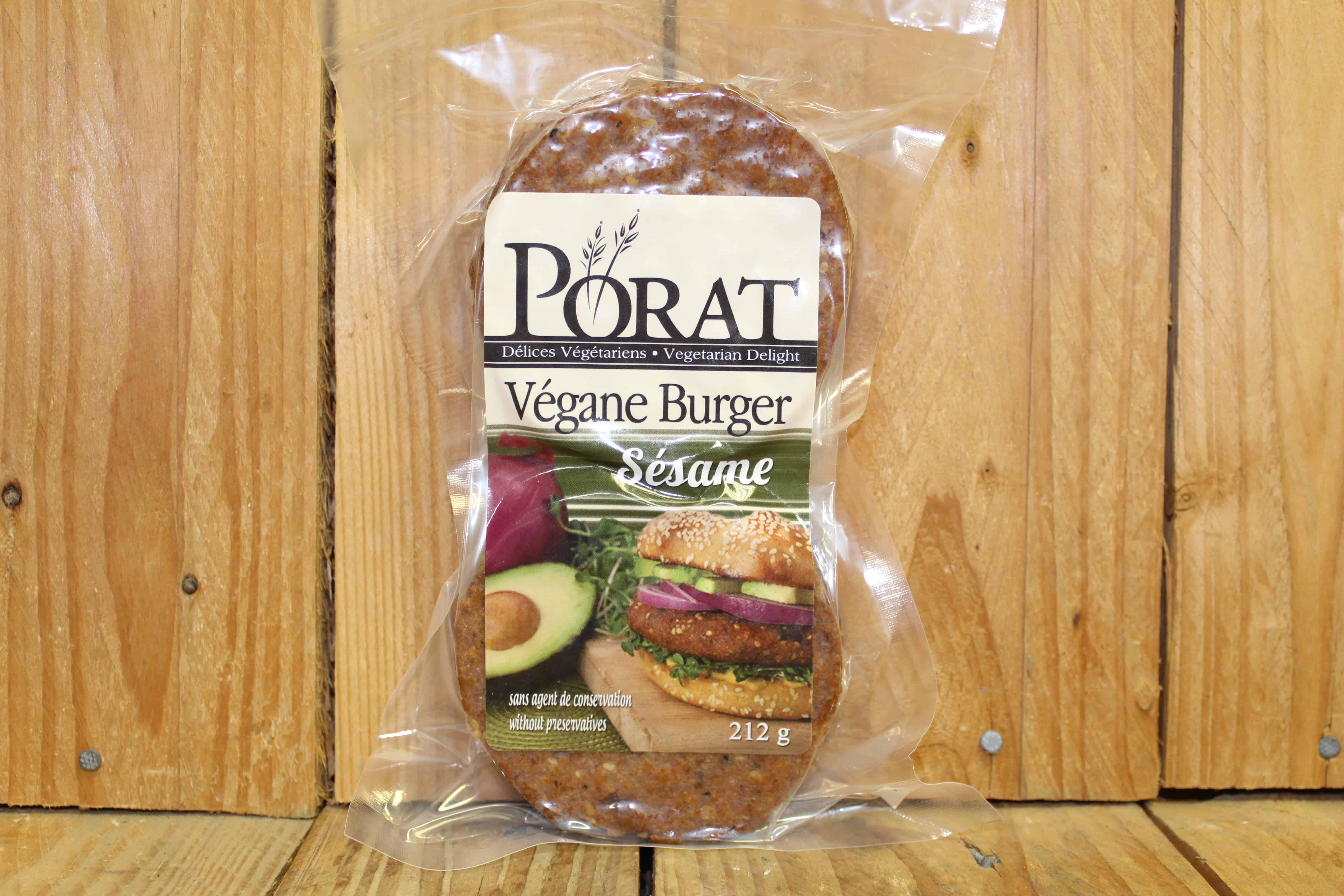 Porat – Vegan Burger – Sesame (224g)