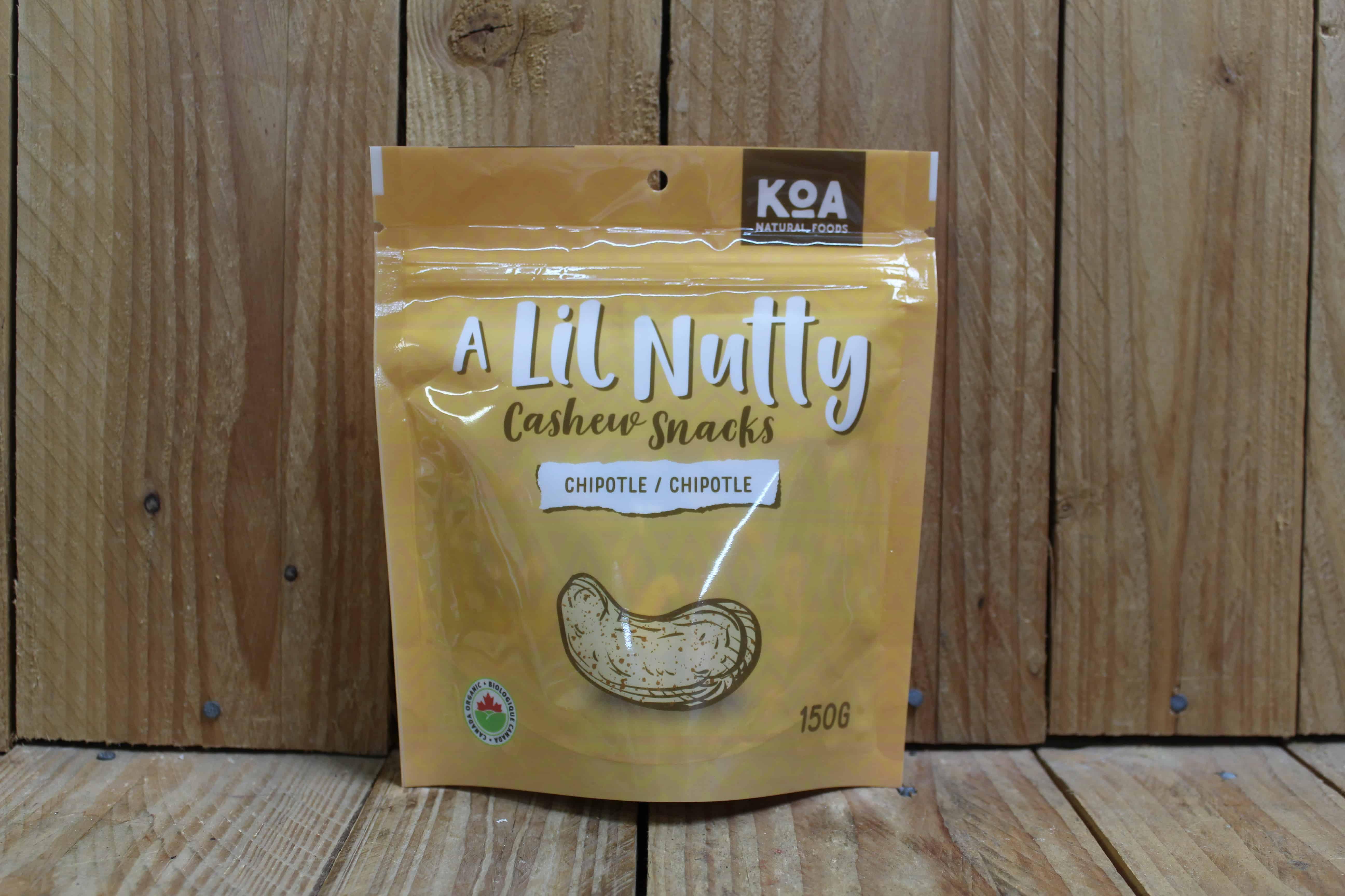 KOA – Cashew Snacks – Chipotle (150g)