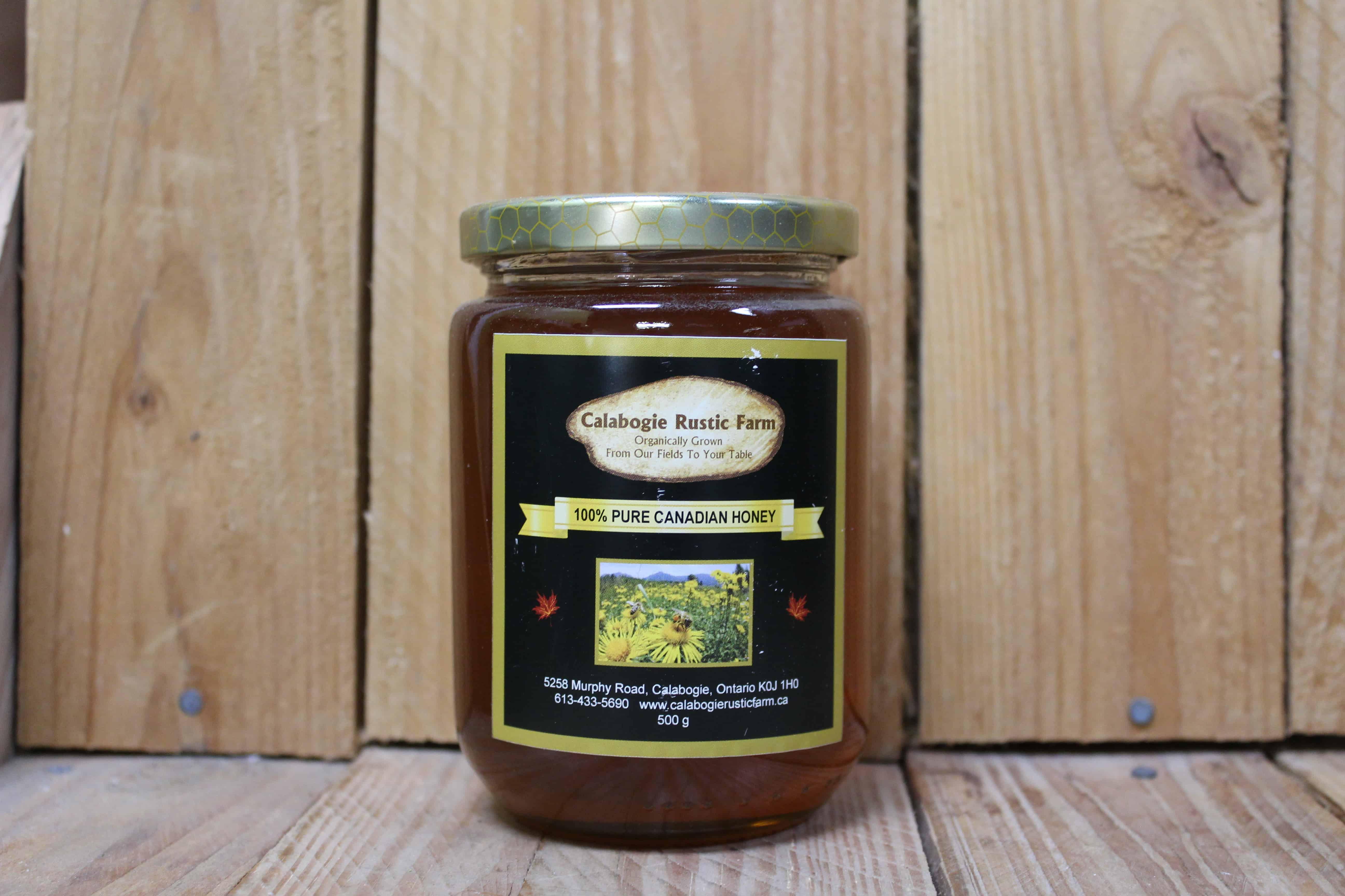 Calabogie Rustic Farm – Honey, Wild Flower LOCAL (500g)