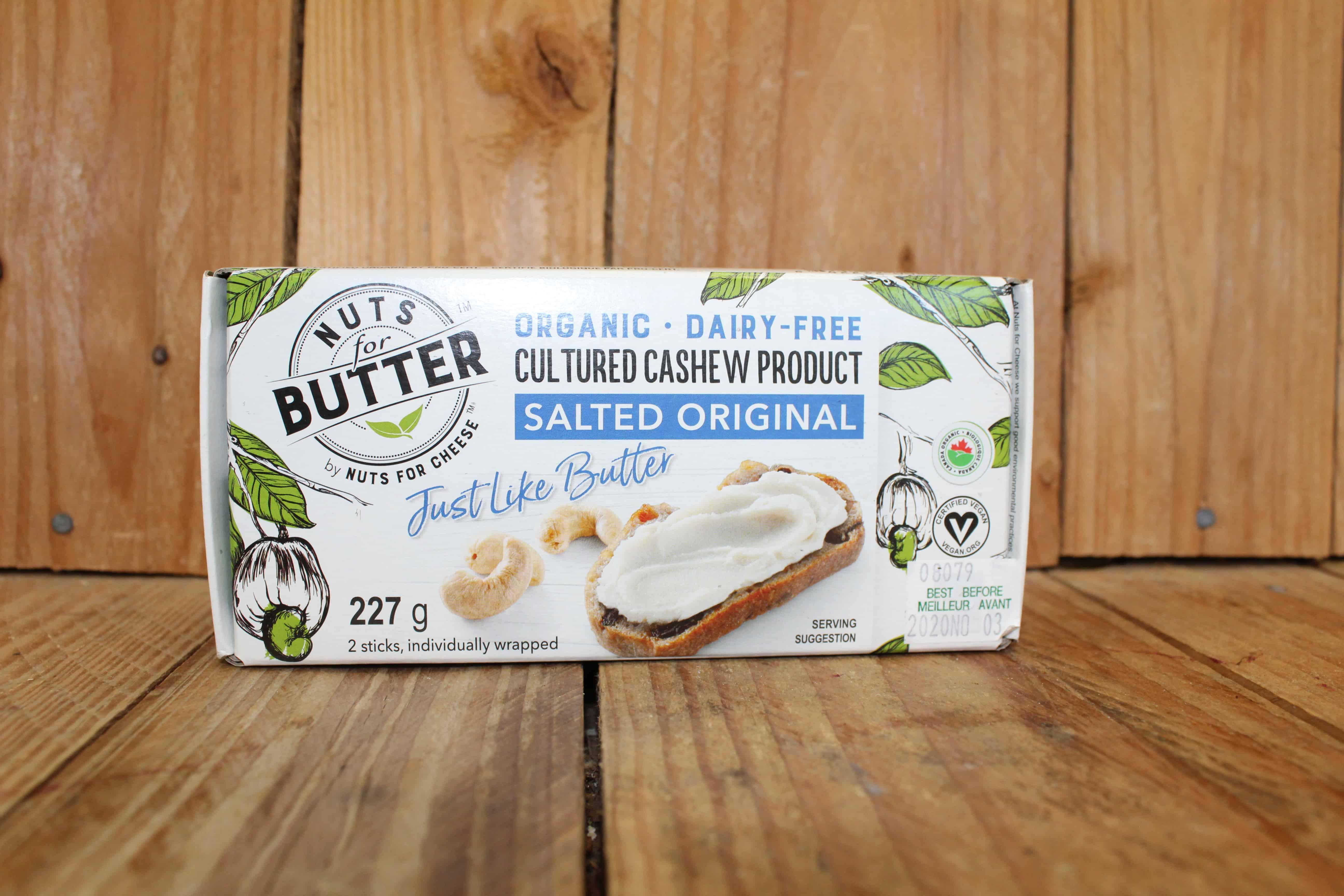 Nuts for Butter – Vegan Butter – Salted Original (227g)