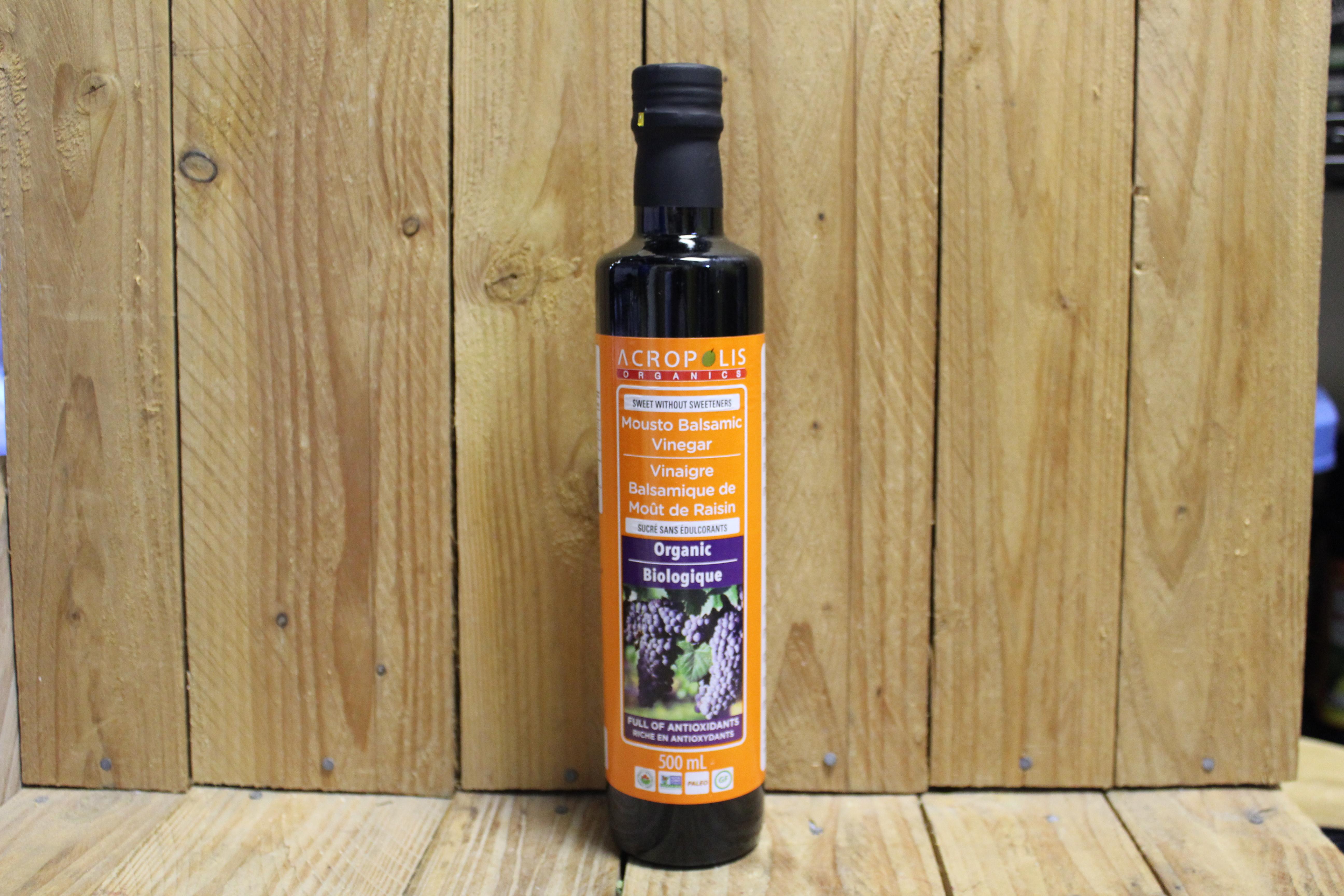 Acropolis – Organic Mousto Balsamic Vinegar (500ml)