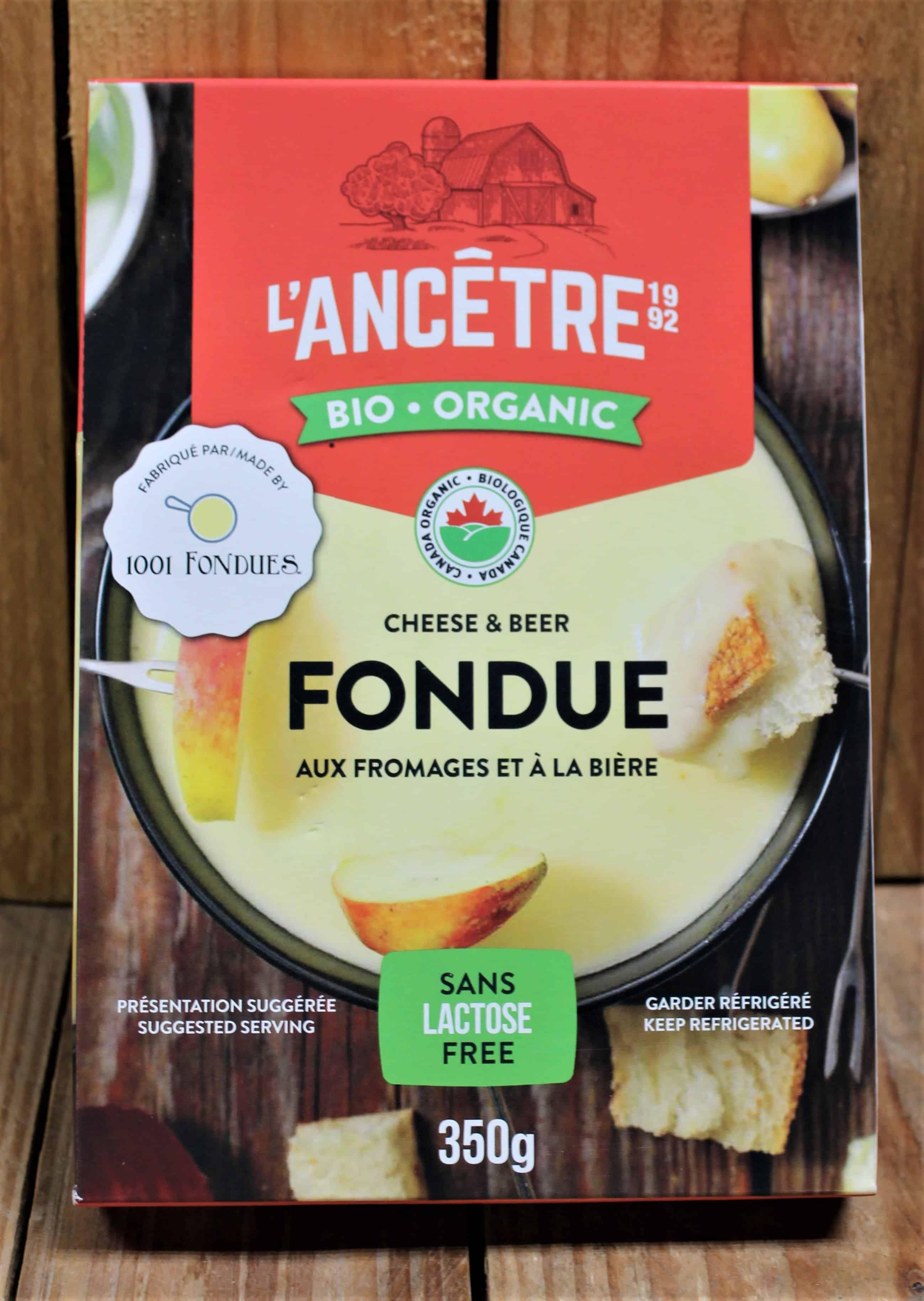 L'Ancetre – Organic Fondue, cheese & beer (350g)