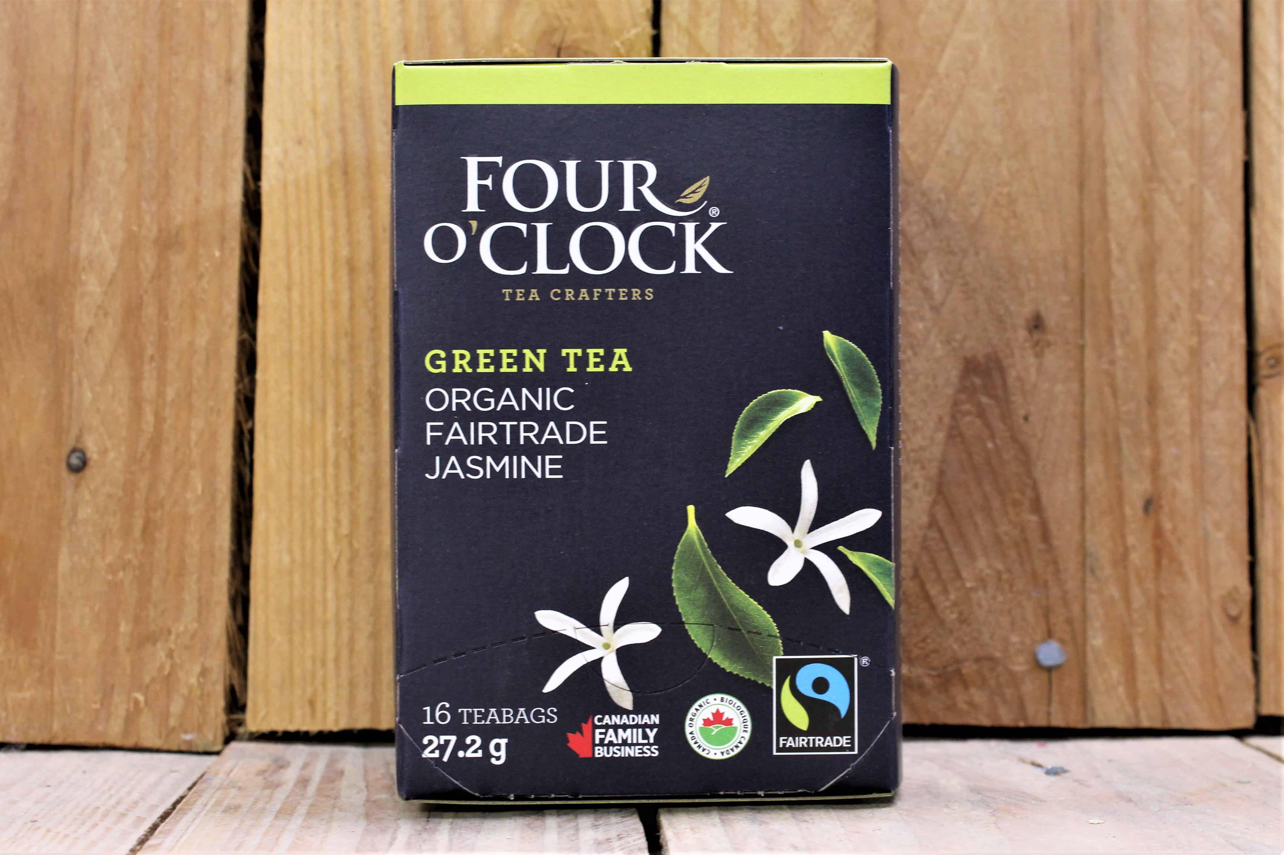 Four O'Clock – Tea – Jasmine Green Tea FAIR TRADE (16 Bags/24g)