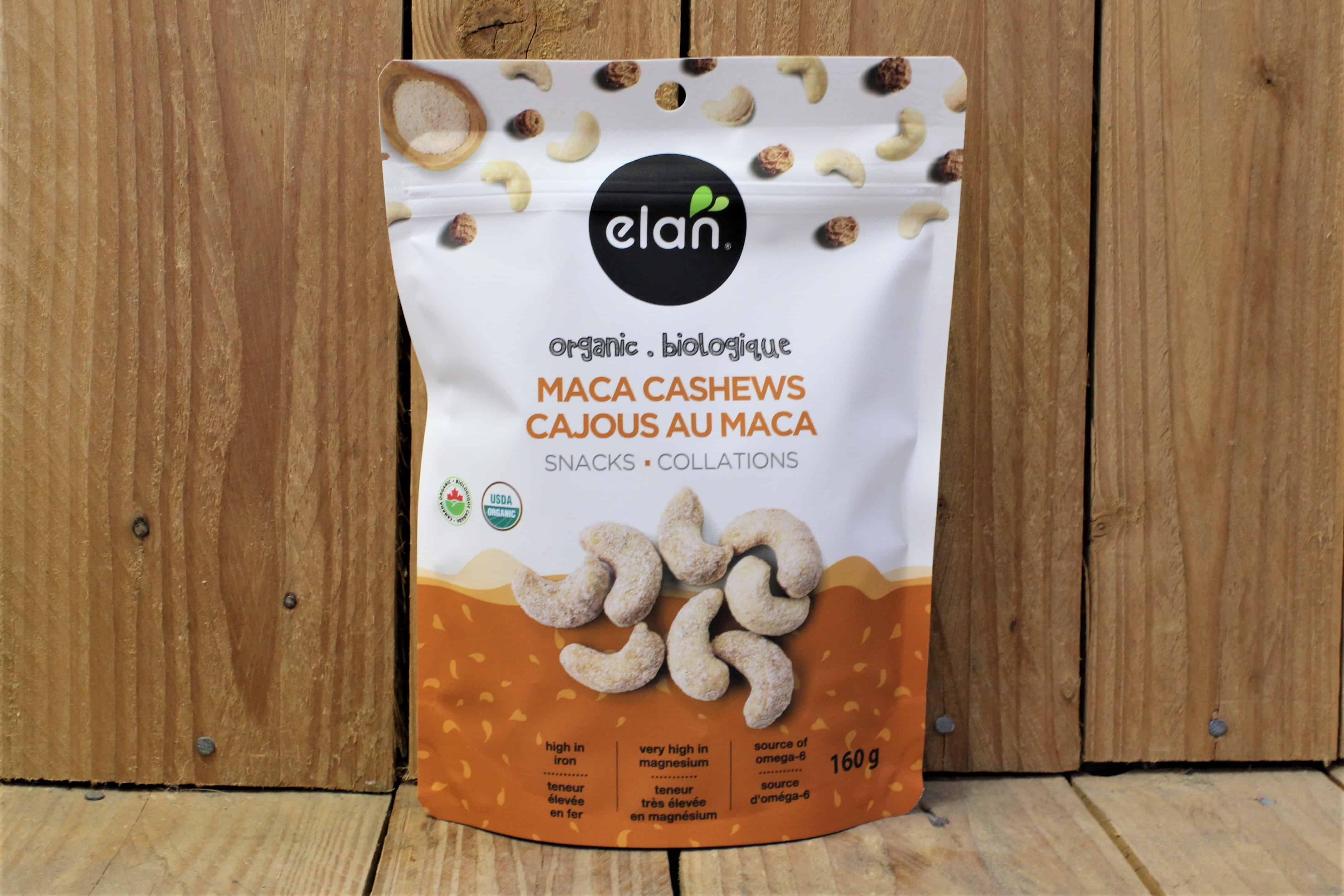 Elan – Organic Maca Cashews (160g)