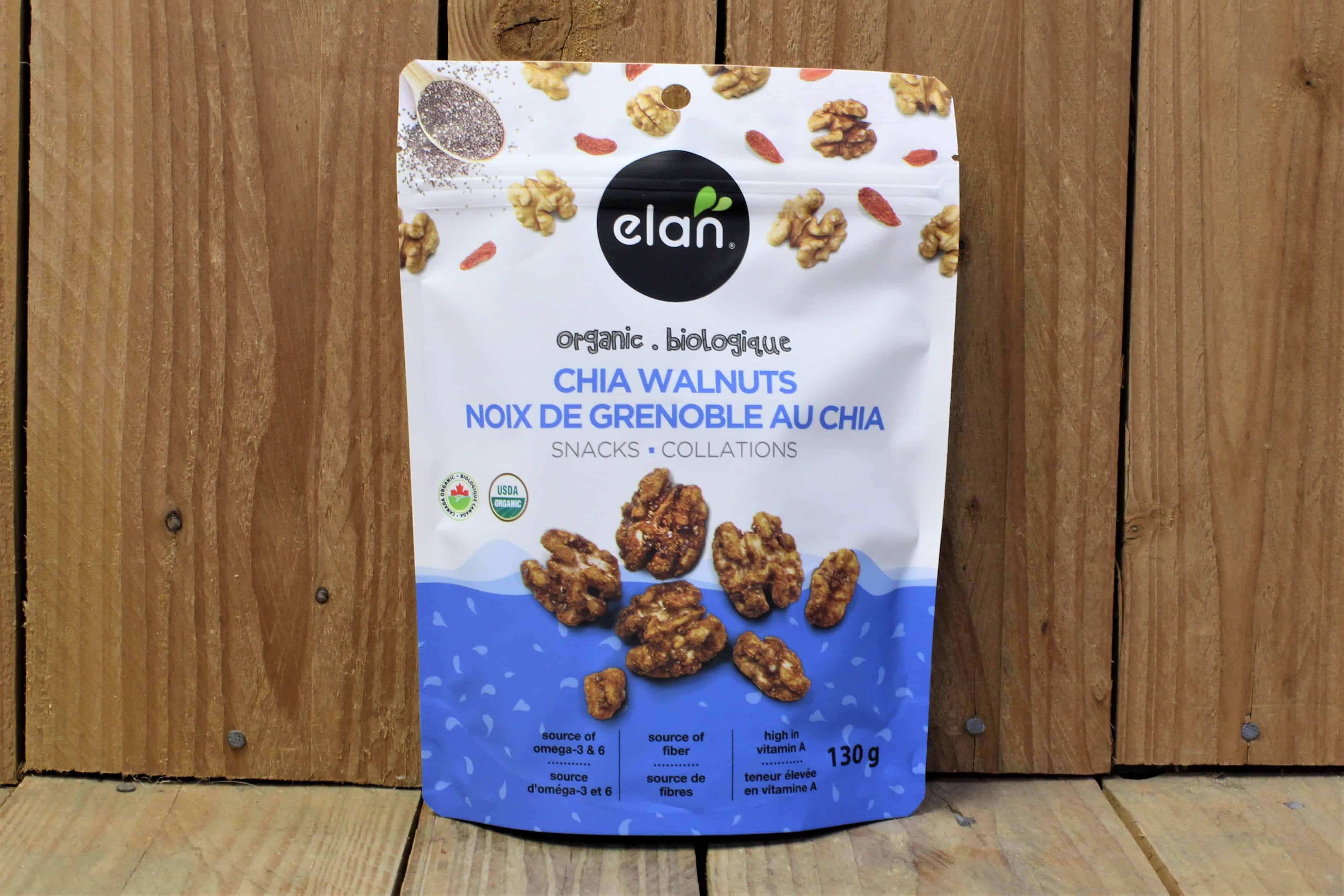 Elan – Organic Chia Walnuts (130g)