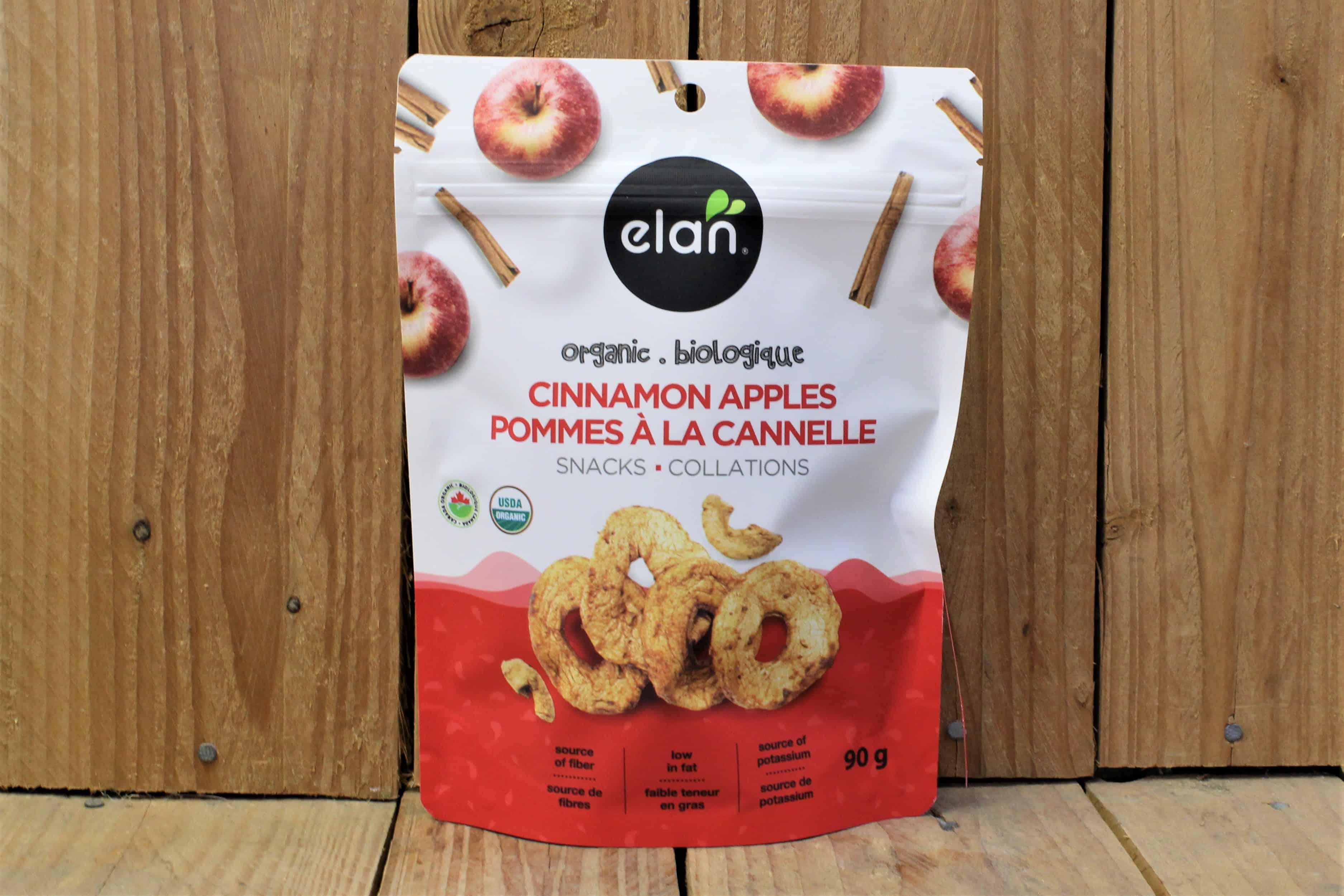 Elan – Organic Cinnamon Apples (90g)