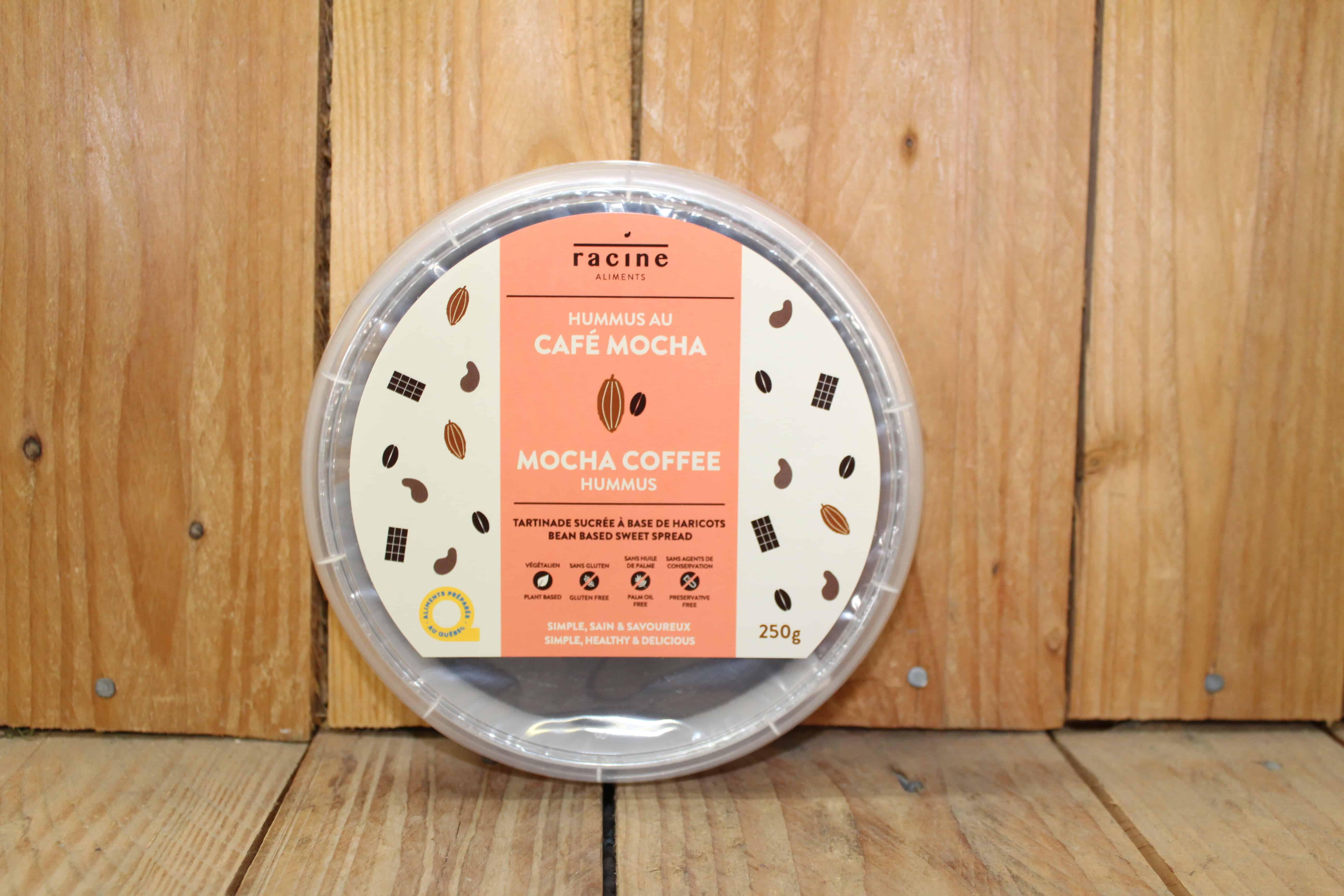 Racine – Hummus – Mocha Coffee (250g)