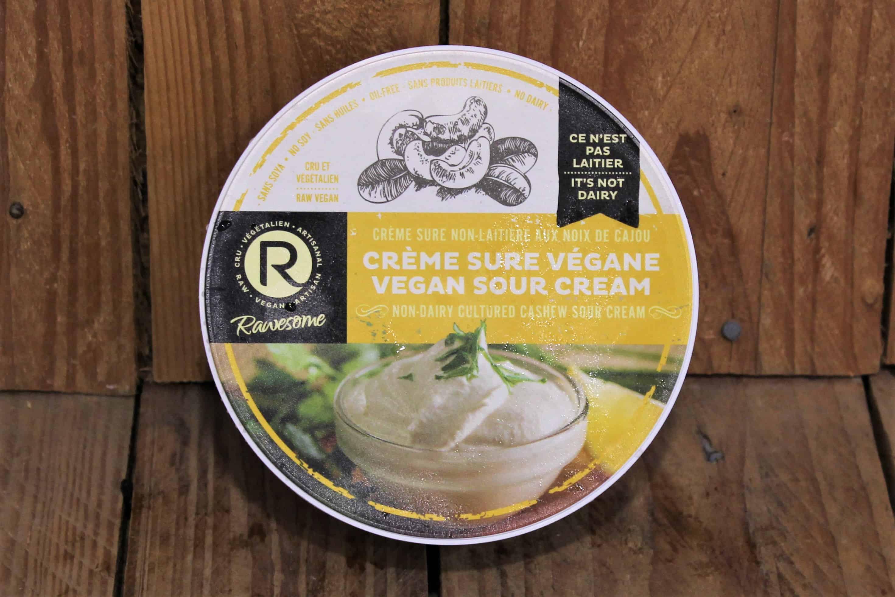 Rawesome – Vegan Cream Cheese – Sour Cream VEGAN (227g)