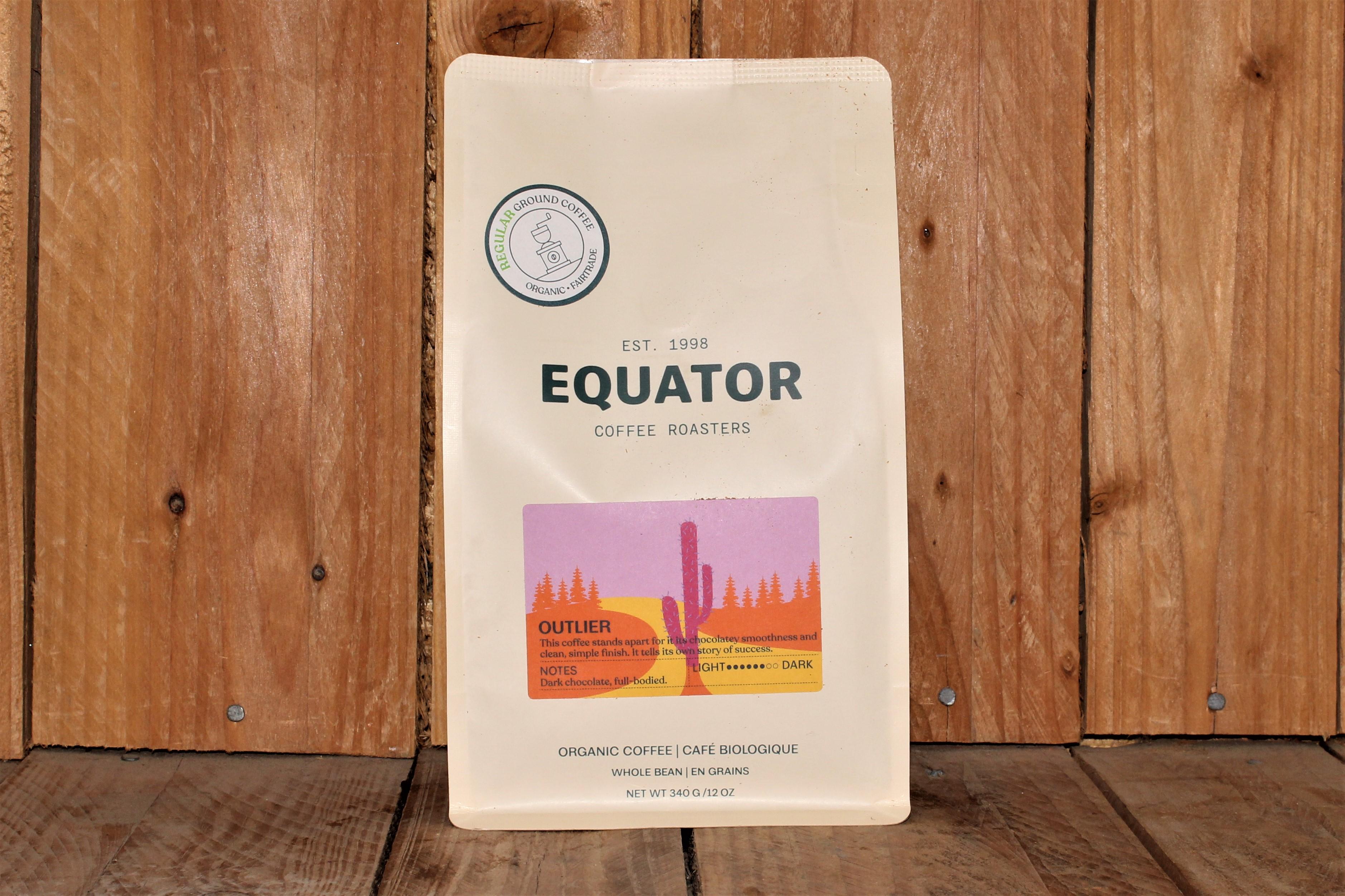 Equator – Organic Coffee – Outlier DARK (340g Bag)