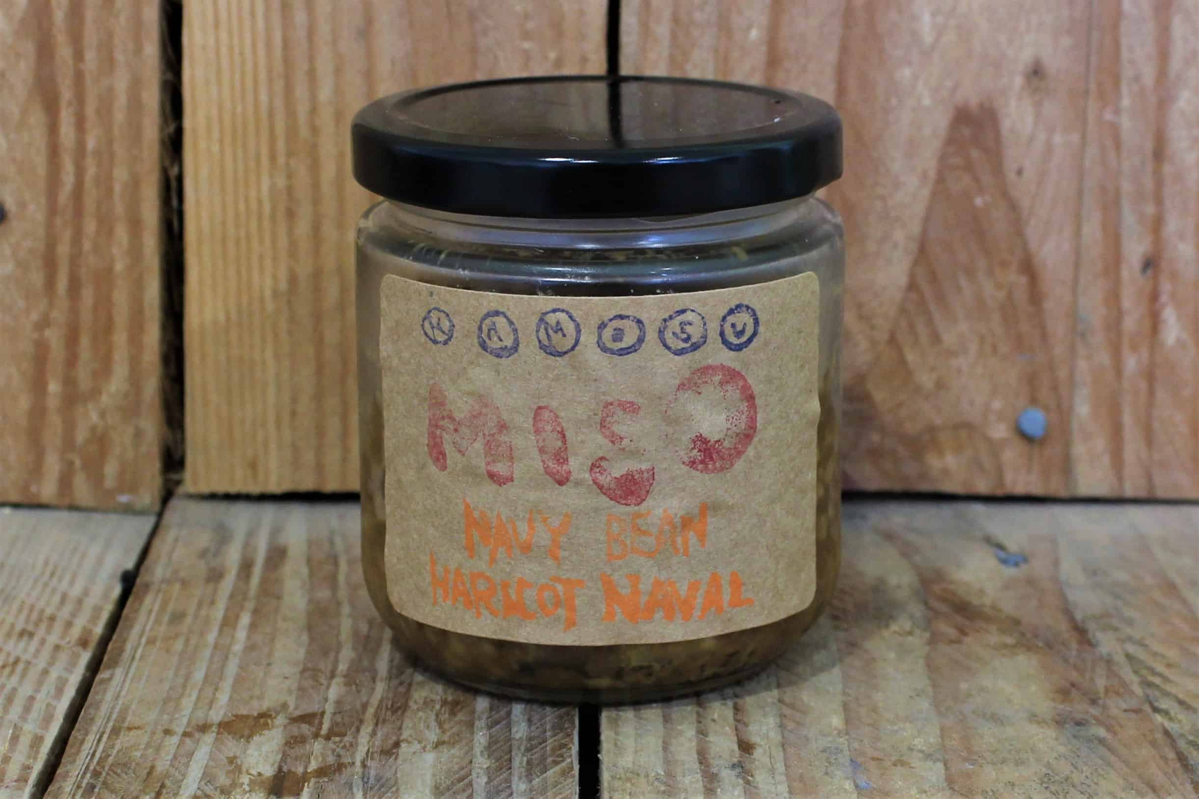 Kamosu – Miso – Navy bean LOCAL (250ml Jar)