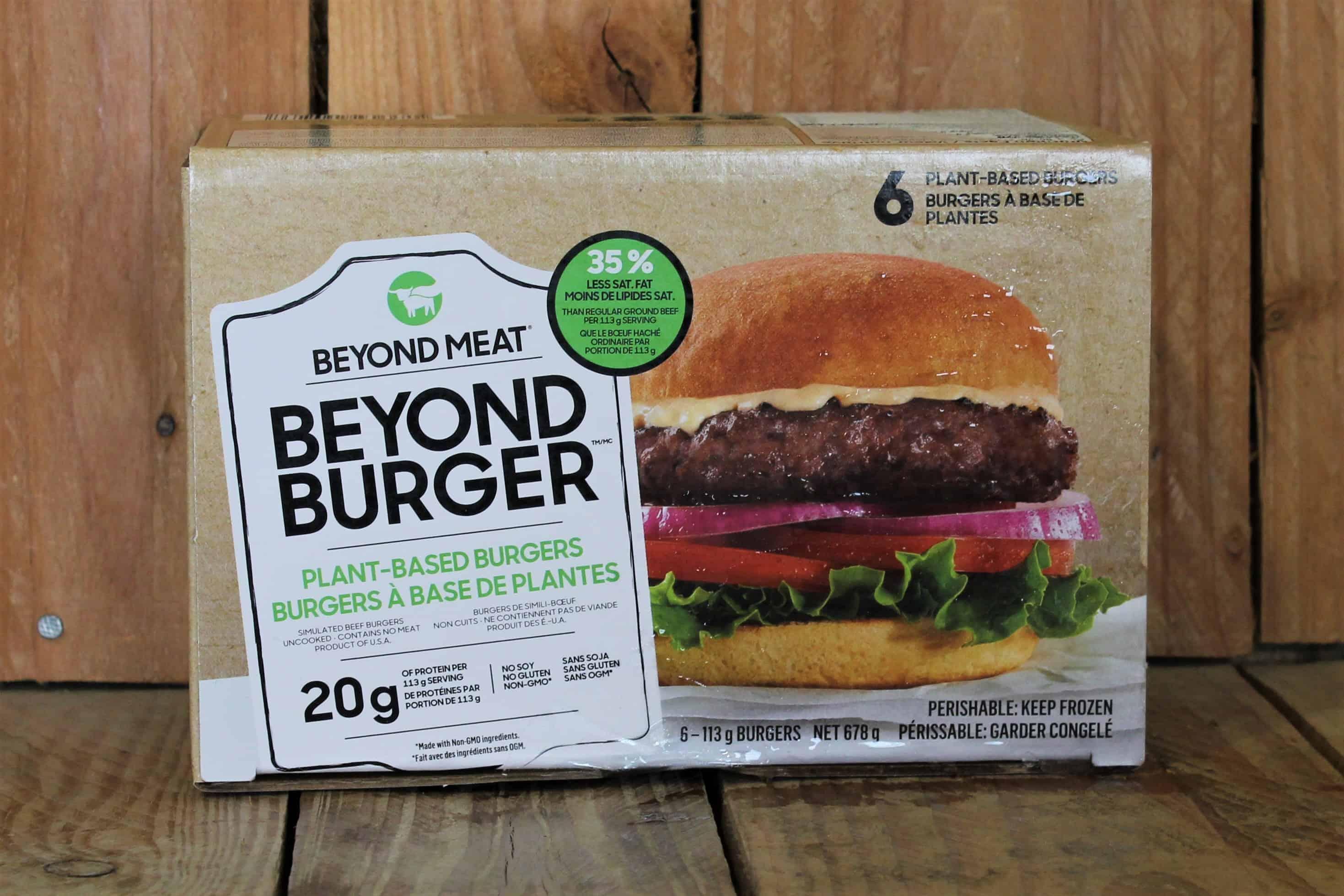 Beyond Meat – Burger, Plant-Based VEGETARIAN (6-Pack/678g)