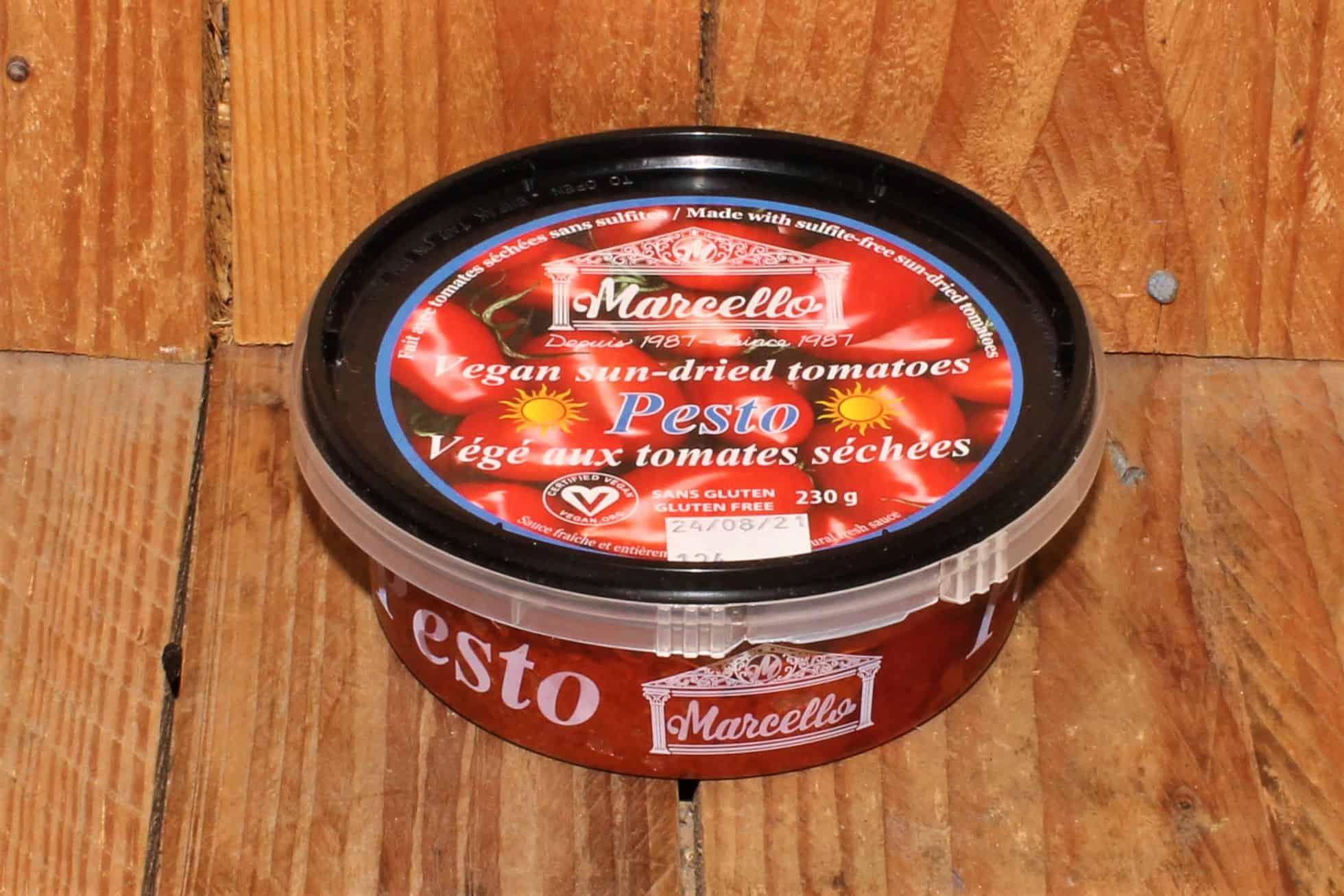 Les Fermes Marcello –  Vegan Pesto, with Sun-Dried Tomatoes (230g)